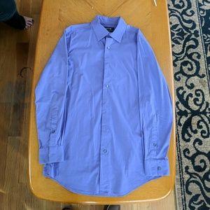 Mens Apt. 9 Slim Fit Dress Shirt in Light Purple